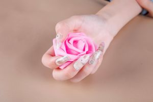 Lovely Girls Art Nail Sticker pictures & photos