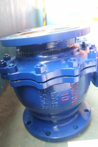 Pneumatic Flanged Floating Ball Valve pictures & photos