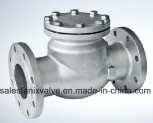 DIN Flanged Swing Check Valve pictures & photos