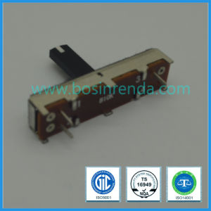 Factory Suppliers 30mm 45mm 60mm 10k Linear Slide Potentiometer, Straight Sliding Potentiometer 10k 100k 20k pictures & photos