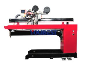 Straight Longitudinal Seam Welding Machine System for Cylinder pictures & photos