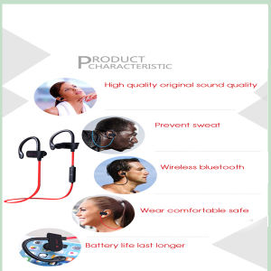 Bluetooth Headphones Wireless Magnetic Stereo Earpiece with Built-in Mic (BT-Q11) pictures & photos