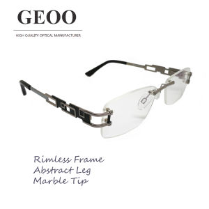 Stainless Abstract Optical Frame (XS5589 C2) pictures & photos