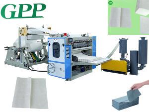 Fully Automatic V Fold Hand Towel Paper Machine /Singlefold pictures & photos