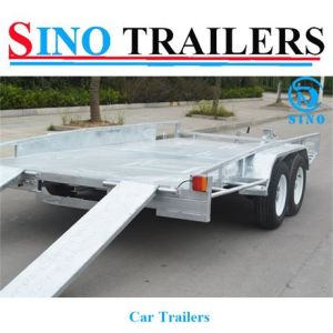 Car Ramp Box Trailer