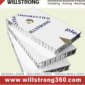 Willstrong Aluminum Honeycomb Panel/Ahp for Wall Cladding pictures & photos