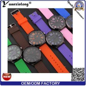 Yxl-181 Colorful Strap Casual Watch Silicone Hot Sale Quartz Wrist Watch Men Women Wholesale pictures & photos