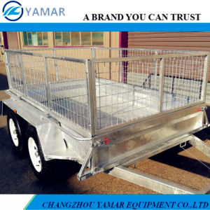 Australia Standard Box Trailer with Cage pictures & photos