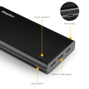 15000mAh Big Capacity and 3 Output Ports Powerbank pictures & photos