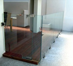 Modern Decorative Stainless Steel Frameless Glass Deck Railing Systems for Building Fence Railing pictures & photos