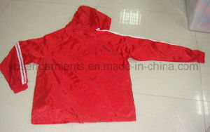 Ladies Outdoor Leisure Polyester Dust Coat Jacket Windbreaker (WB02) pictures & photos