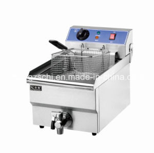 Factory with High Quality 1-Tank 1 Basket Electric Fryer pictures & photos