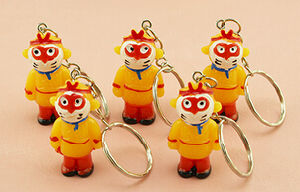 High Quality Customized Logo Cartoon Style Resin Key Chain pictures & photos