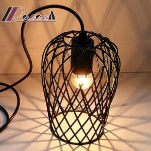 Matt Black Iron Net Round Pendant Light for Dining Room pictures & photos