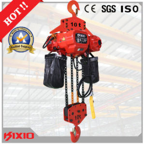High Quality 10 Ton Electric Chain Hoist with Hook pictures & photos