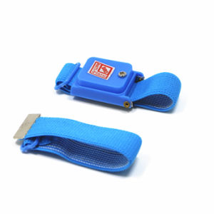 ESD Cordless Wrist Strap for Electronic Assembling Line pictures & photos