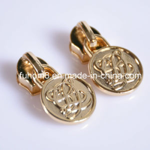 Custom Fashion Decorative Metal Zipper Pull/Zipper Puller pictures & photos