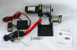 ATV Steel Gear Electric Winch Jeep Winch (3000lb-2) pictures & photos