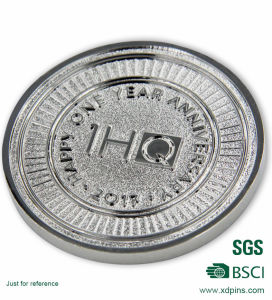 Sliver Fashion Souvenir Enamel Coins pictures & photos
