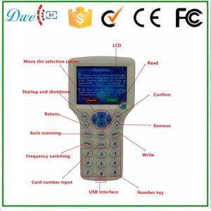 13.56MHz IC Copier with LCD Display Can Be Copy Encryption Mf Card pictures & photos