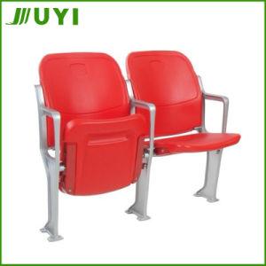 Folding Stadium Chair Plastic Chairs Stadium Seats with Aluminum Armrest Blm-4651 pictures & photos