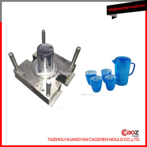 High Quality Two Cavity Plastic Injection Water Jug Mould pictures & photos