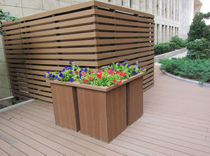 WPC Natural Texture Outdoor Flower Box pictures & photos