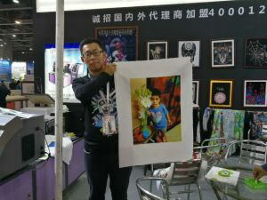 Fd680 Automatic Printer for Tshirts pictures & photos
