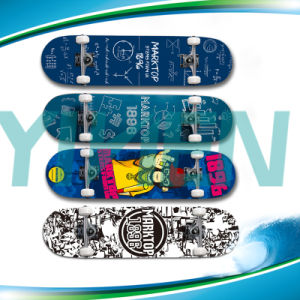High Quality 42′′ Longboard Skateboard Maple Skateboards pictures & photos