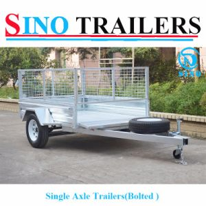 6X4 Hot Dipped Galvanized Bolt Trailer