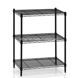 60 X 30 X 80 Cm Heavy Duty Wire Shelving System, 3-Tier, Black pictures & photos