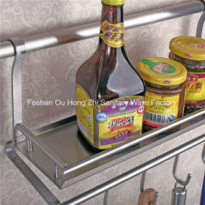 Stainless Steel Multi-Functional Kitchen Utensil Rack pictures & photos