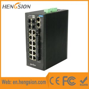 4 Gigabit Combo and 4 Fiber Port Ethernet Network Switch pictures & photos