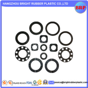 OEM High Quatlity Black O-Ring Plastic Gasket pictures & photos