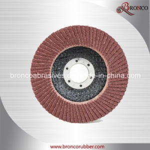 Aluminum Oxide Flap Disc with Fiberglass Backing pictures & photos