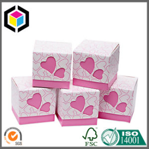 Bucket Style Rigid Cardboard Gift Paper Box with Handle pictures & photos