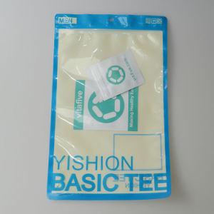Customer Print Men′s Underwear Package Apparel Plastic Bag Zipper Lock Bag pictures & photos