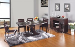 French Style Modern Dining Table Set (SBL-CT-198+71#) pictures & photos