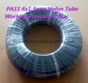 Nylon PA11 6X1.5mm W. P. 89bar Plastic Hose/Tube/Pipe pictures & photos