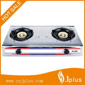 Table Top Stainless Steel Gas Cooker Gas Stove Gas Burner Jp-Gc208 pictures & photos