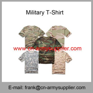 Camouflage T-Shirt-Police Shirt-Army T-Shirt-Military T-Shirt pictures & photos