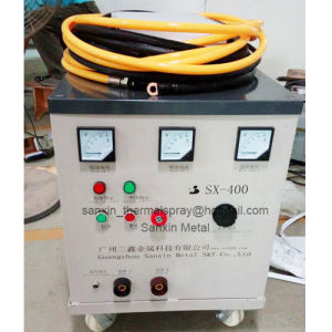 Anti-Corrosion Coating High Velocity Arc Spray Coating Machine / Metallic Wire Thermal Spraying Equipment Set with Spray Torch