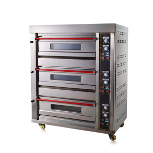 Customized 3 Deck 6 Trays Commercial Electric Oven Bread Baking Oven pictures & photos