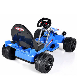 Electric Ride-on Children′s Toy Car- Remote Control Blue Kart pictures & photos