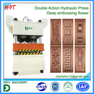New Double Action Hydraulic Press for Metal Plate pictures & photos