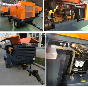 6m3 Diesel Portable Screw Air Compressor pictures & photos