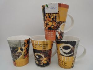 Ceramic Coffee Mug with Big Hand pictures & photos