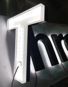 Shop Building Store Front Door Acrylic Mini Backlit Halolit Reverse LED Neon Sign Letter pictures & photos