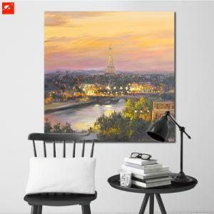 Paris Dusk Art Print Eiffel Tower Oil Painting pictures & photos