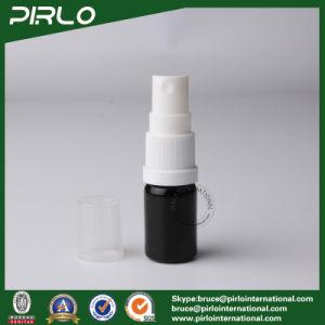 5ml Black Lightproof Glass Spray Bottles with White New Pump Sprayer pictures & photos